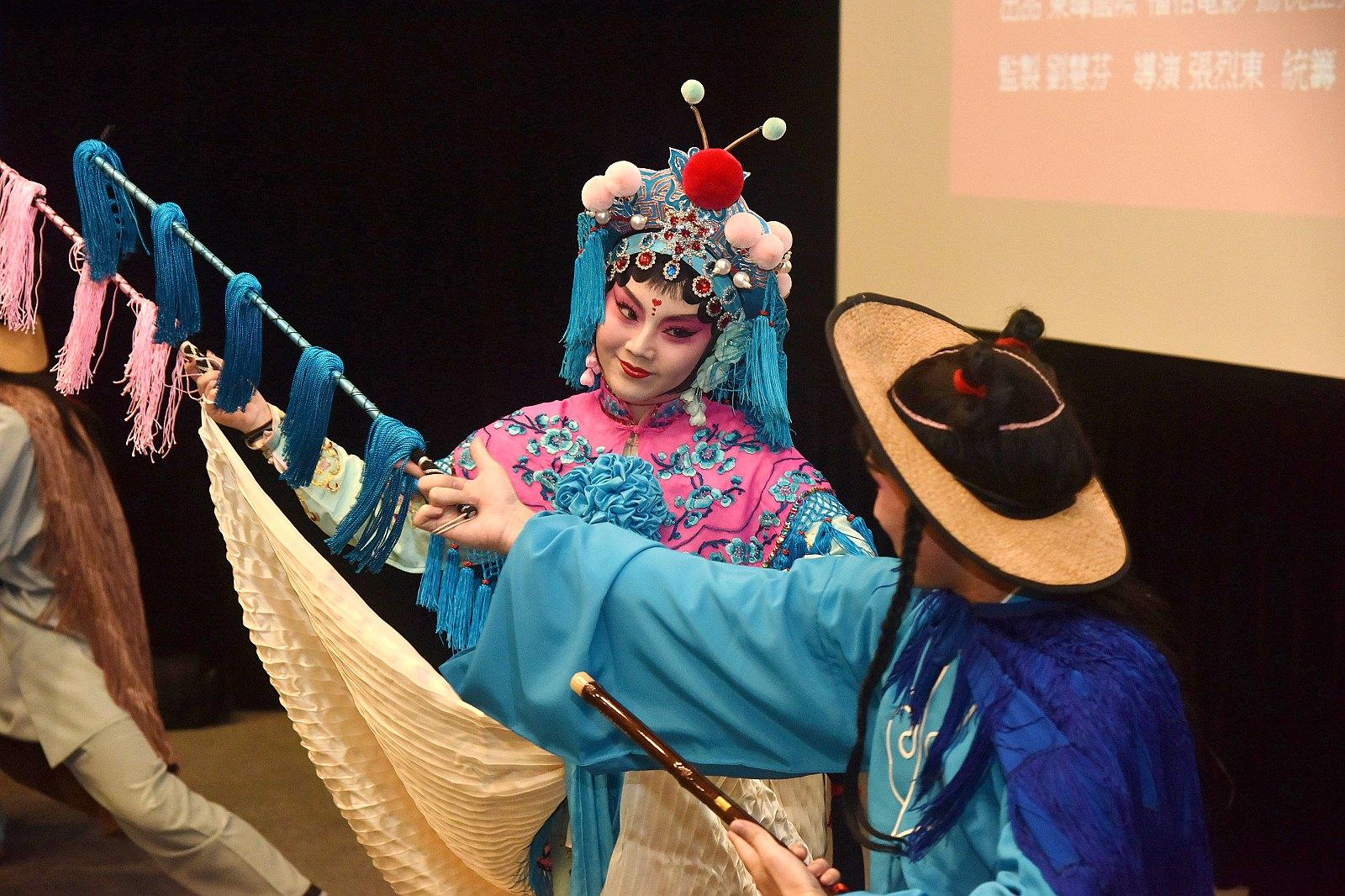 《璀璨年代之好戲連臺》特映會 朱市長邀請欣賞京劇藝術