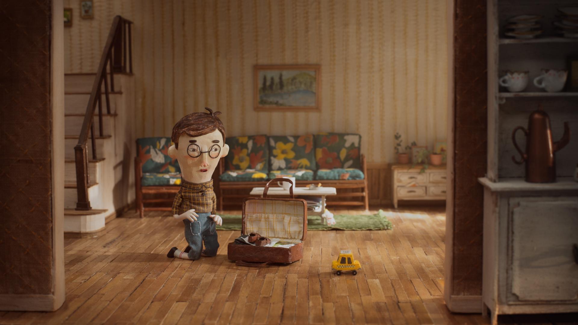 「最佳國際動畫獎」得獎作品-法國動畫短片《Negative Space負空間》